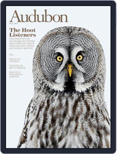 Audubon September 1st, 2016 Digital Back Issue Cover
