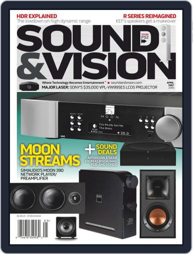 Sound & Vision (Digital) April 1st, 2019 Issue Cover