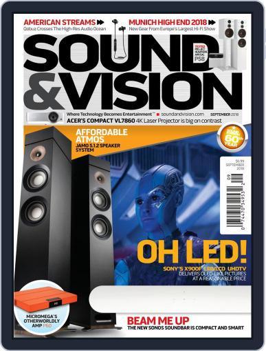 Sound & Vision (Digital) September 1st, 2018 Issue Cover
