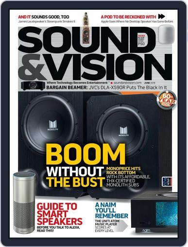 Sound & Vision June 1st, 2018 Digital Back Issue Cover