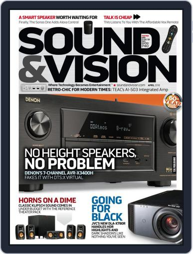 Sound & Vision April 1st, 2018 Digital Back Issue Cover