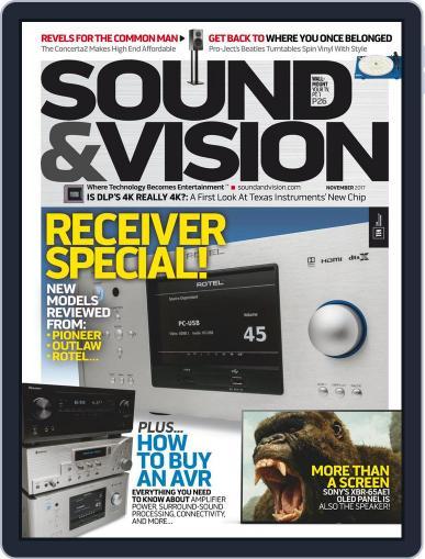 Sound & Vision (Digital) November 1st, 2017 Issue Cover