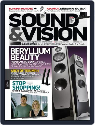 Sound & Vision (Digital) September 1st, 2017 Issue Cover