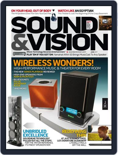 Sound & Vision (Digital) June 1st, 2017 Issue Cover
