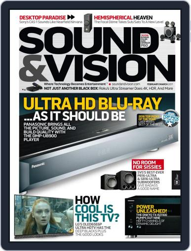 Sound & Vision February 1st, 2017 Digital Back Issue Cover