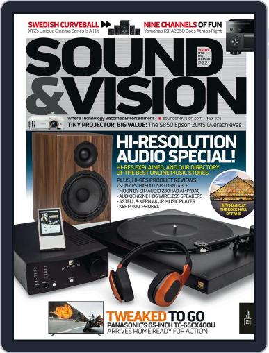 Sound & Vision (Digital) May 1st, 2016 Issue Cover