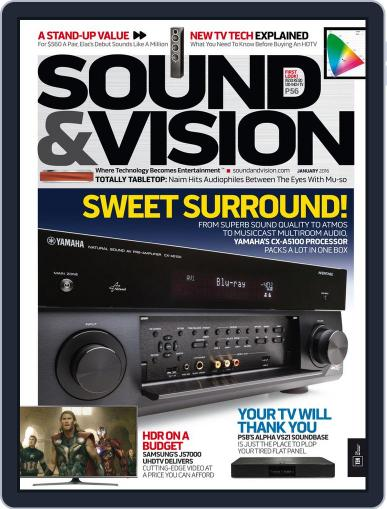 Sound & Vision January 1st, 2016 Digital Back Issue Cover