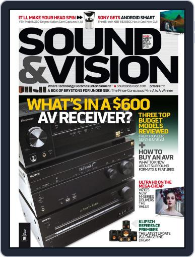 Sound & Vision (Digital) October 1st, 2015 Issue Cover