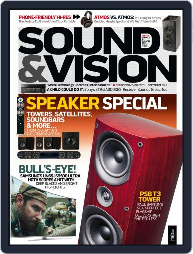 Sound & Vision (Digital) September 1st, 2015 Issue Cover