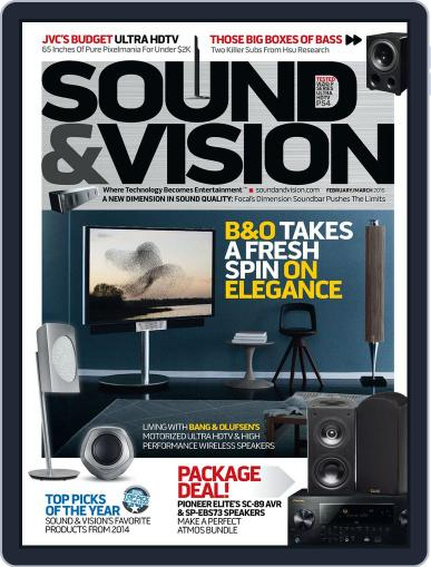 Sound & Vision (Digital) January 9th, 2015 Issue Cover