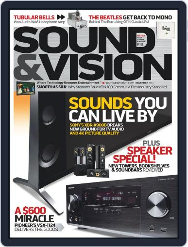 Sound & Vision (Digital) October 10th, 2014 Issue Cover