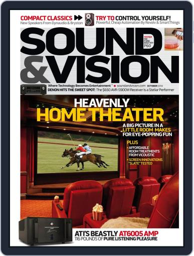 Sound & Vision (Digital) September 30th, 2014 Issue Cover
