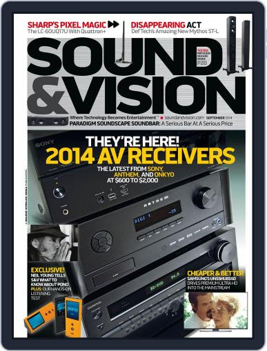 Sound & Vision (Digital) August 1st, 2014 Issue Cover