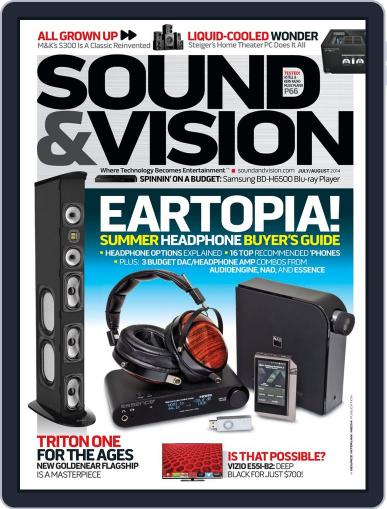 Sound & Vision (Digital) June 13th, 2014 Issue Cover