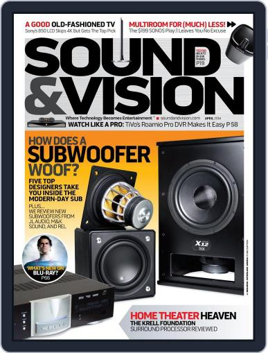Sound & Vision (Digital) March 7th, 2014 Issue Cover