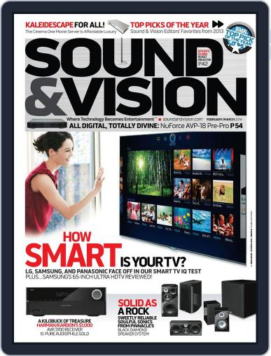 Sound & Vision (Digital) January 16th, 2014 Issue Cover
