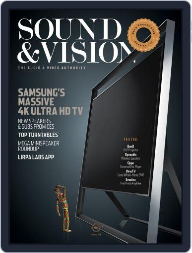 Sound & Vision (Digital) March 9th, 2013 Issue Cover