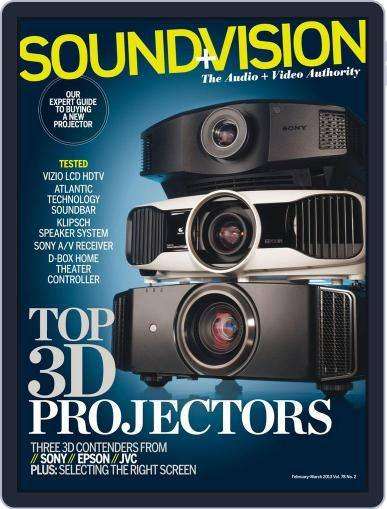 Sound & Vision January 12th, 2013 Digital Back Issue Cover
