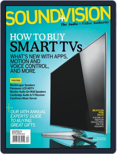 Sound & Vision (Digital) November 10th, 2012 Issue Cover