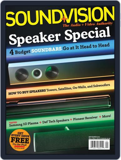 Sound & Vision (Digital) August 4th, 2012 Issue Cover