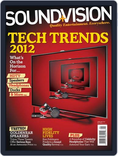 Sound & Vision (Digital) March 10th, 2012 Issue Cover