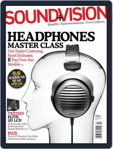 Sound & Vision (Digital) January 21st, 2012 Issue Cover