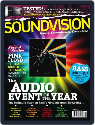 Sound & Vision October 10th, 2011 Digital Back Issue Cover