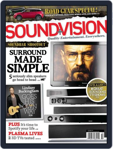 Sound & Vision (Digital) September 12th, 2011 Issue Cover