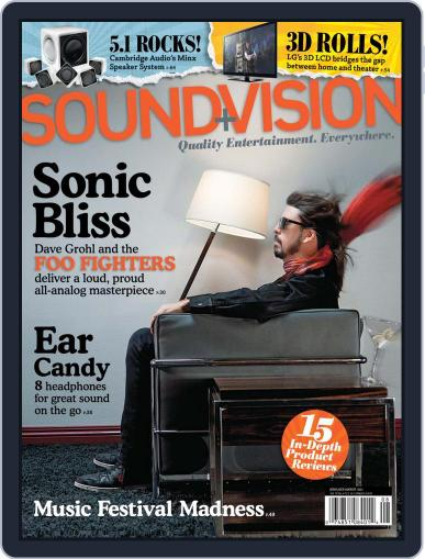 Sound & Vision (Digital) May 30th, 2011 Issue Cover
