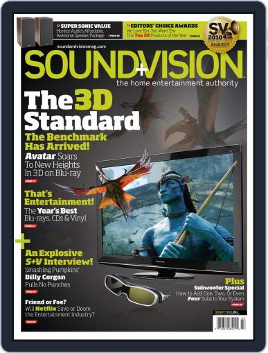 Sound & Vision January 19th, 2011 Digital Back Issue Cover