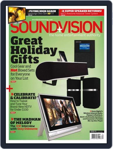Sound & Vision (Digital) November 13th, 2010 Issue Cover