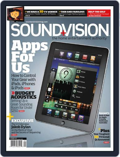 Sound & Vision (Digital) August 7th, 2010 Issue Cover