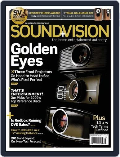Sound & Vision (Digital) January 16th, 2010 Issue Cover
