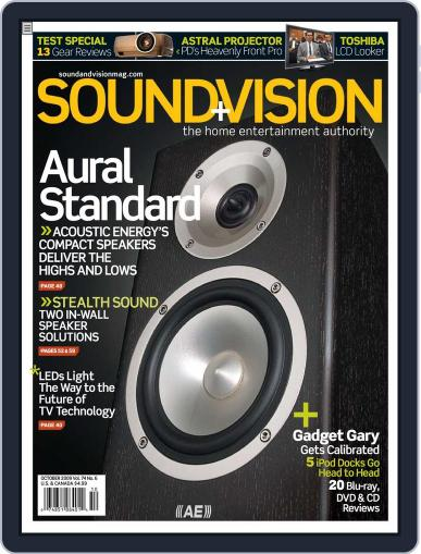 Sound & Vision (Digital) September 12th, 2009 Issue Cover