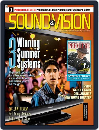 Sound & Vision (Digital) June 9th, 2009 Issue Cover