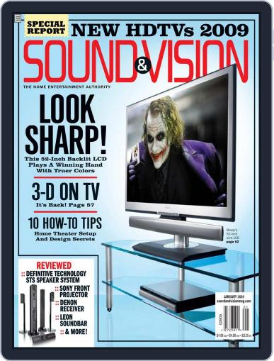 Sound & Vision (Digital) December 9th, 2008 Issue Cover