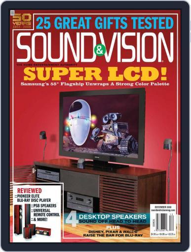 Sound & Vision November 11th, 2008 Digital Back Issue Cover