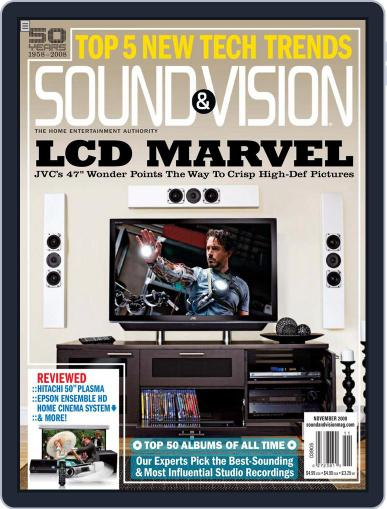 Sound & Vision October 14th, 2008 Digital Back Issue Cover
