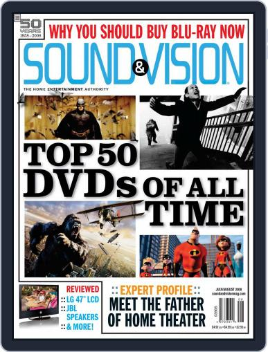 Sound & Vision (Digital) June 24th, 2008 Issue Cover