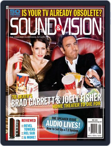 Sound & Vision April 15th, 2008 Digital Back Issue Cover
