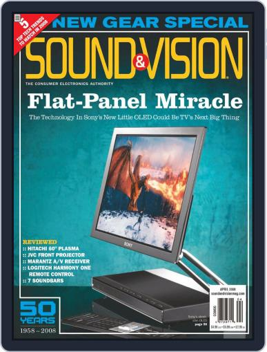 Sound & Vision (Digital) March 11th, 2008 Issue Cover