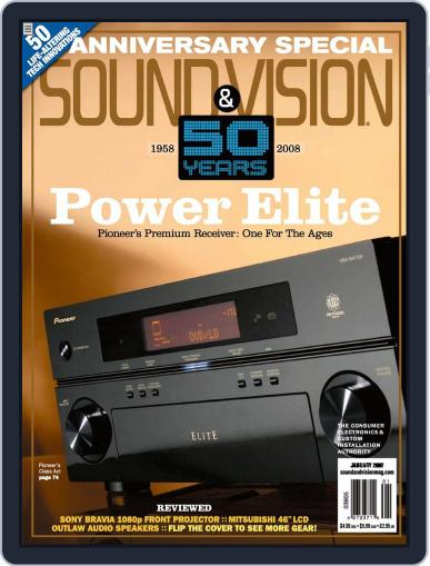 Sound & Vision (Digital) December 18th, 2007 Issue Cover