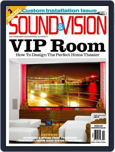 Sound & Vision (Digital) September 11th, 2007 Issue Cover