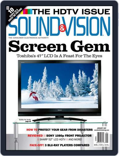 Sound & Vision (Digital) December 6th, 2006 Issue Cover