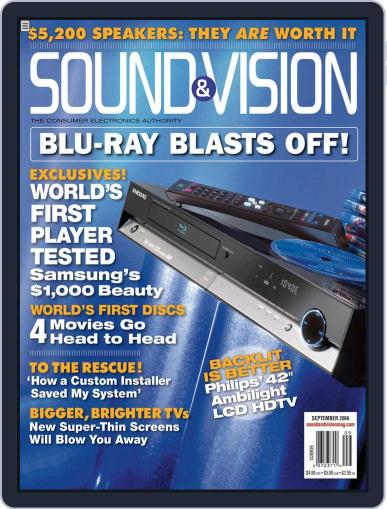 Sound & Vision August 29th, 2006 Digital Back Issue Cover