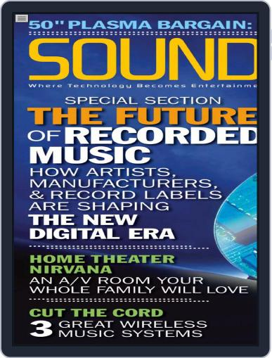 Sound & Vision July 7th, 2006 Digital Back Issue Cover