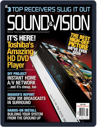 Sound & Vision (Digital) May 19th, 2006 Issue Cover