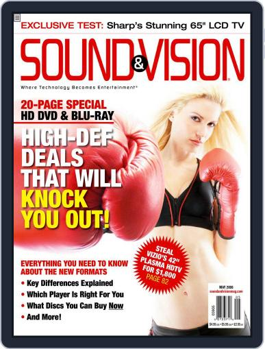 Sound & Vision (Digital) April 12th, 2006 Issue Cover