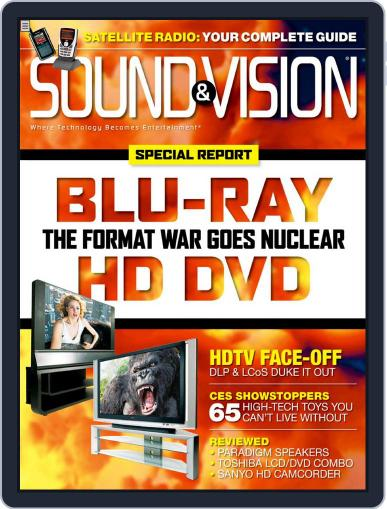 Sound & Vision March 15th, 2006 Digital Back Issue Cover