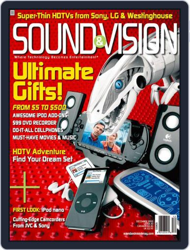 Sound & Vision (Digital) November 8th, 2005 Issue Cover